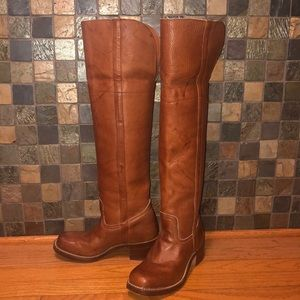 Frye Over The Knee Campus Boot
